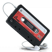"""Силиконовый чехол """"Кассета"""" для Iphone 3/3S"""