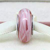 Стекло Мурано Pandora копия  Розовый