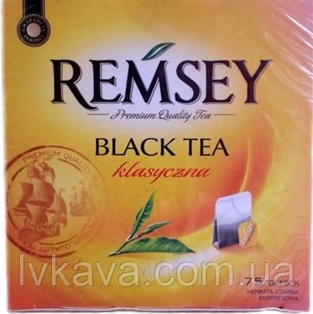 Чай черный классический REMSEY, 75 пак, фото 2