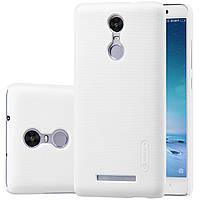 Чехол Nillkin для Xiaomi Redmi Note 3 белый (+пленка), фото 1