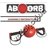 Ролик для пресса гимнастическое колесо шар New AB Wheel ABOORB