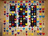 Бабочки,сердечки,флажки,звездочки из картона, фото 2