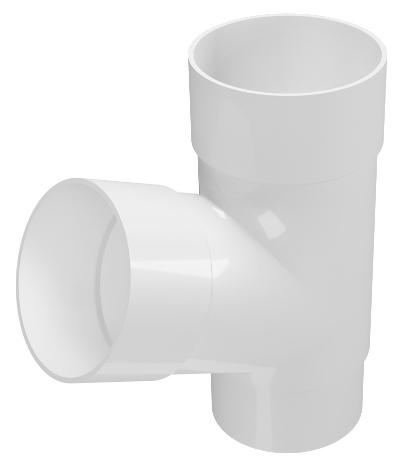 Тройник трубы Regenau Д=80мм/80мм/67,5° градусов