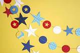Бабочки,сердечки,флажки,звездочки из картона, фото 5