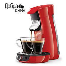 Кофемашина Philips Senseo Viva Café HD6563/80 (красная)