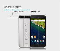 Защитная пленка Nillkin для Huawei Nexus 6P матовая