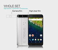 Защитная пленка Nillkin для Huawei Nexus 6P глянцевая