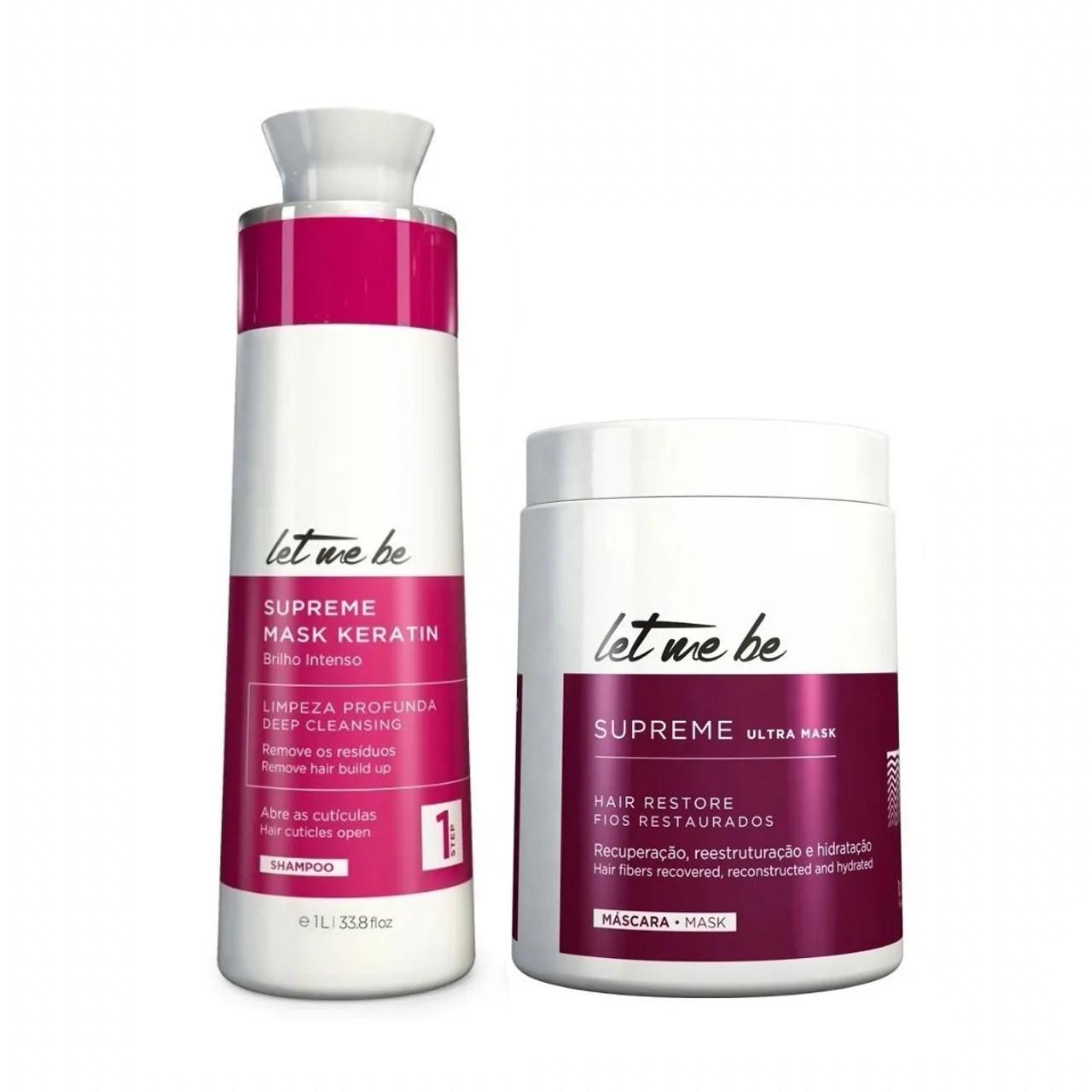 Let me be B-Btox Anti-aging Набор ботекс для волос 2х500 мл (разлив)
