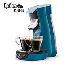 Кофемашина Philips Senseo Viva Café HD6563/70 (сине-голубая)