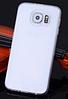 Силиконовый прозрачный чехол для Samsung Galaxy S6