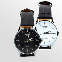 Кварцевые часы SWIDU черные и белые