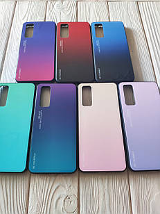 Чехол Gradient для Huawei P Smart 2021 (разные цвета)