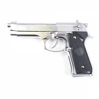 Пистолет TAURUS PT92 SILVER GAS