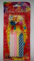 Праздничные свечи на торт 13 штук