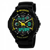 Часы Skmei 0931 Black-Yellow