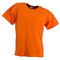 Футболка URGENT оранжевого кольору