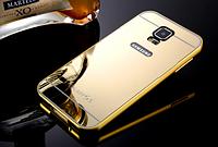 Золотой защитный чехол+бампер Samsung S5