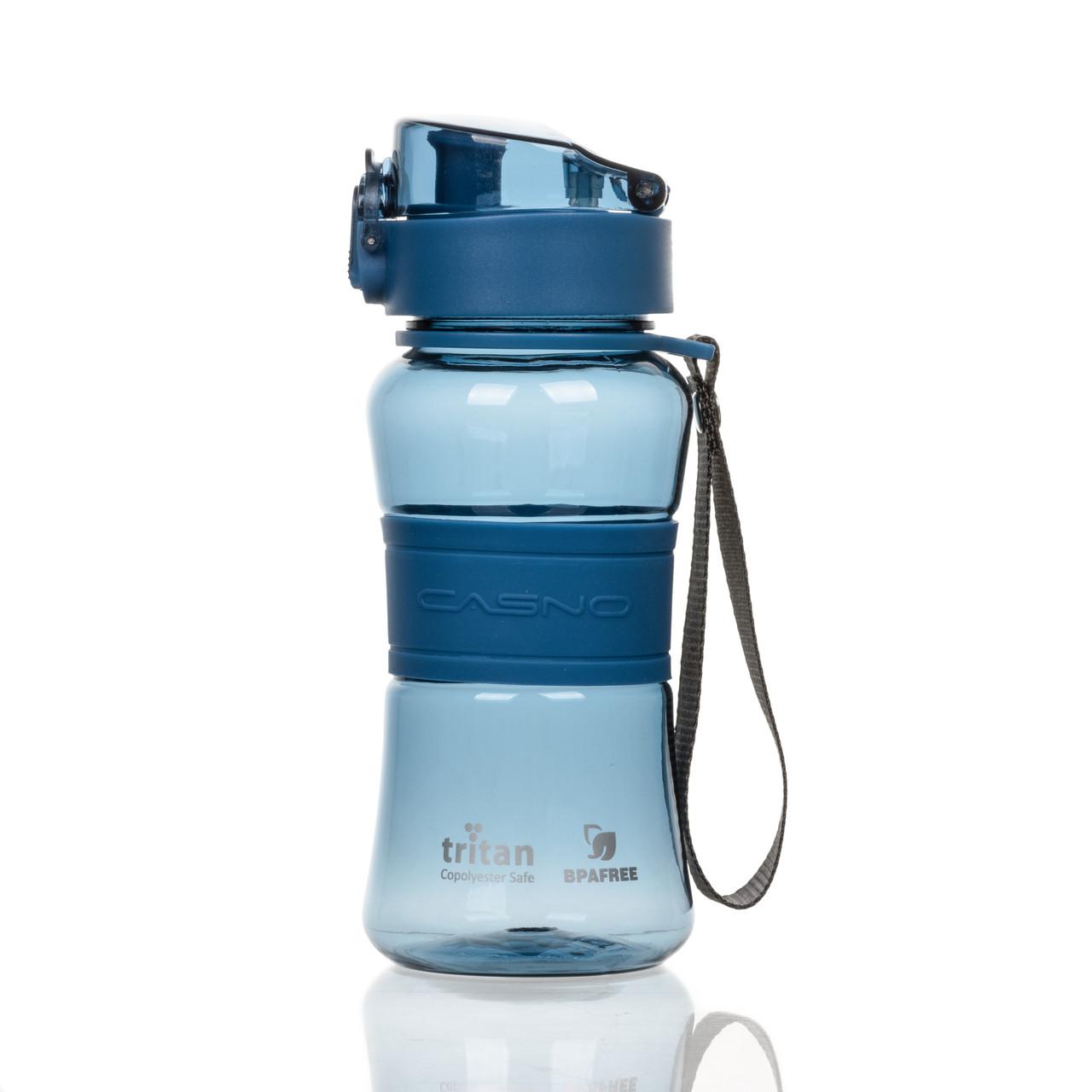 Бутылка для воды CASNO 400 мл KXN-1104 Tritan Синяя
