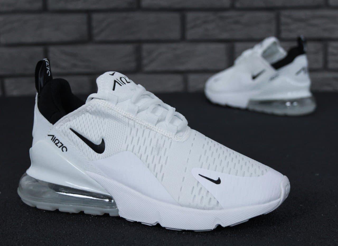 Чоловічі кросівки Nike Air Max 270 (білі) К11600 повсякденні стильні