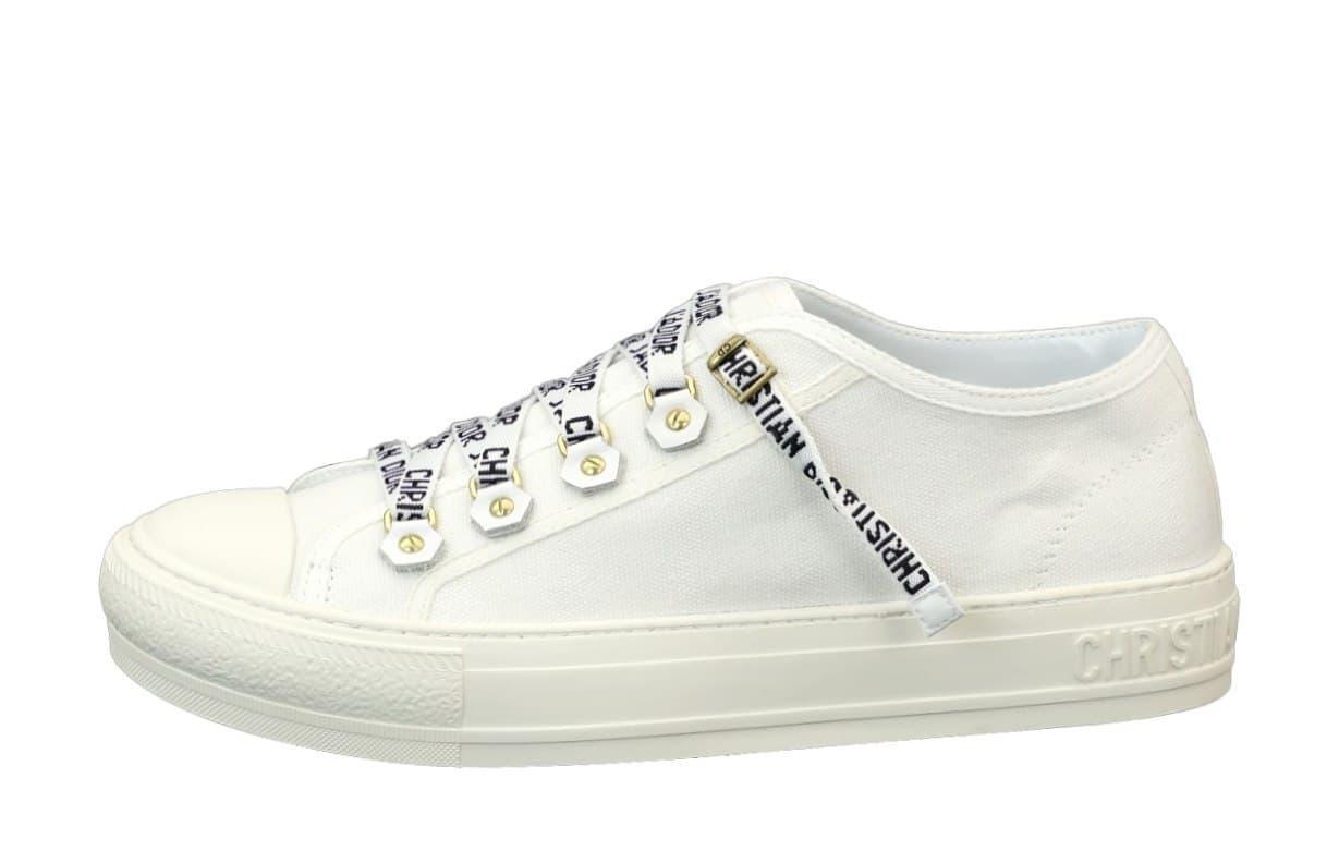 Жіночі кросівки Dior Sneakers (білі) К12186 якісні молодіжні
