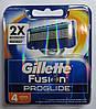 Картриджи Gillette Fusion ProGlide   Оригинал 4 шт в упаковке производство Германия