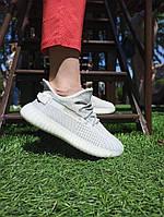 Женские кроссовки серые рефлектив шнурки