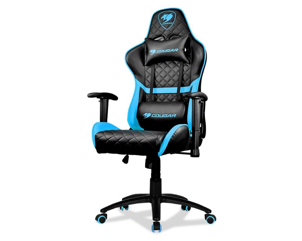 Крісло для геймерів Cougar Armor One Black/Sky Blue