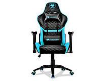 Крісло для геймерів Cougar Armor One Black/Sky Blue, фото 2