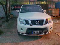 Защита передняя на Nissan Pathfinder, фото 1