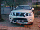 Защита передняя на Nissan Pathfinder, фото 2