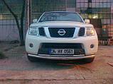Защита передняя на Nissan Pathfinder, фото 3