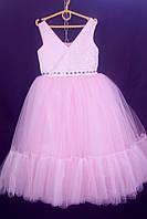 Дитяча сукня для дівчинки Фея 6-8 років, рожевого кольору