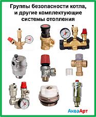 Группы безопасности котла, сбросные клапаны и другие комплектующие системы отопления