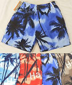 Шорты мужские с пальмами M - 4XL Шорты пляжные Tovta
