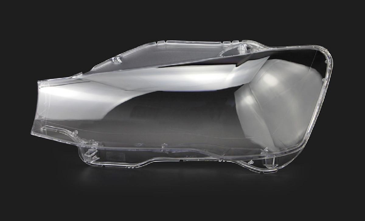 Пластикове скло фари BMW X3 (F25) 2014-2017 ліве (водійське)
