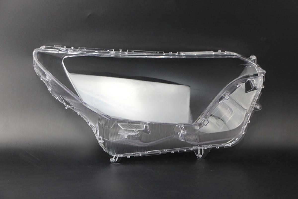 Пластиковое стекло фары Toyota RAV4 2015-2019 правое (пассажирское)