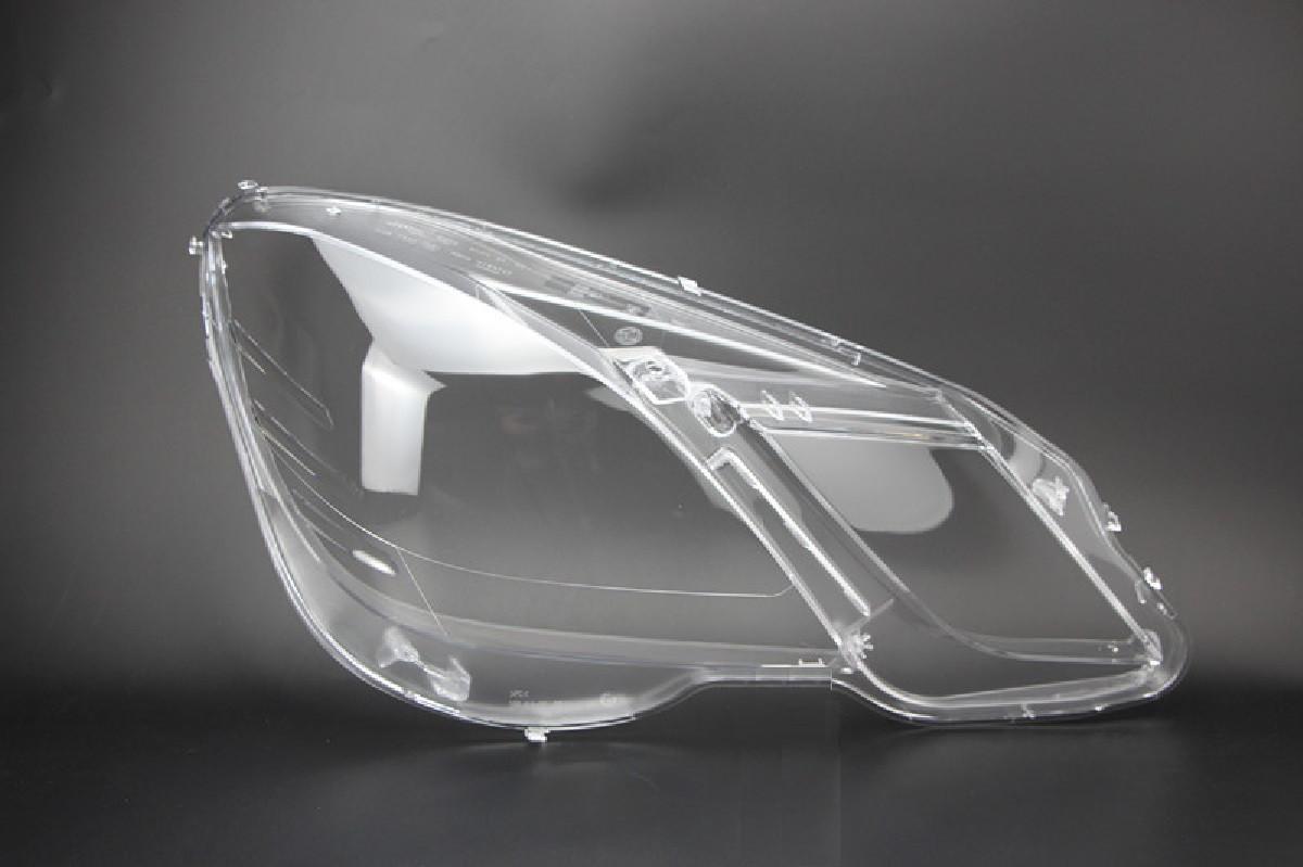 Пластиковое стекло фары Mercedes-Benz E-Class (W212/S212) 2009-2013 правое (пассажирское)