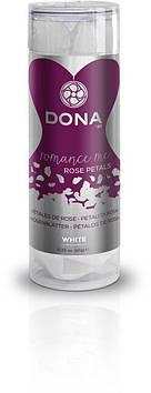Декоративные лепестки розы DONA Rose Petals White, многоразовые, не вянут Bomba💣