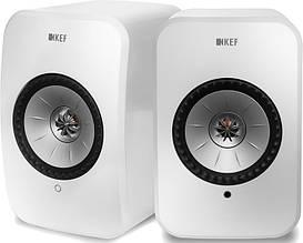 Акустична система KEF LSX Wireless Gloss White