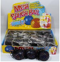 ОПТ!!! Силиконовая игрушка Антистресс с шариками орбиз в  черной сетке.24 шт в уп.