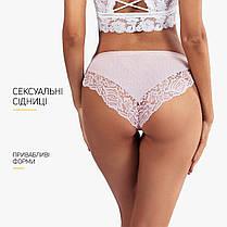 Комплект жіночих трусиків сліпів (5шт) Woman Underwear мереживна обробка Розмір S, фото 3