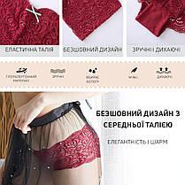 Комплект женских кружевных трусиков шортиков Размер L (5шт), фото 3