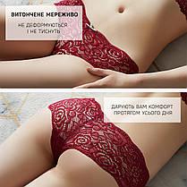 Комплект женских кружевных трусиков шортиков Размер L (5шт), фото 2