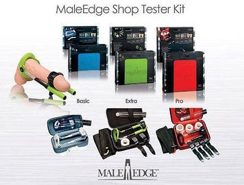 Retail Kit Male Edge (Pro + Extra + Basic + Demo Kit), включает три модели экстендеров и стенд Bomba💣