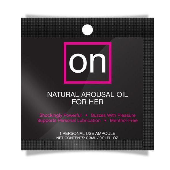 Пробник возбуждающего масла Sensuva - ON Arousal Oil for Her Original (0,3 мл) Bomba💣