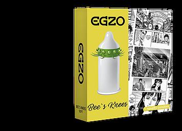 Насадка на член EGZO Bees knees (презерватив с усиками) Bomba💣
