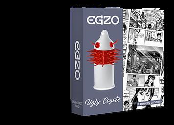 Насадка на член EGZO Uglu Coyot (презерватив с усиками) Bomba💣