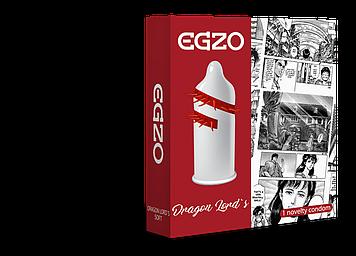 Насадка на член EGZO Dragon Lords (презерватив с усиками) Bomba💣