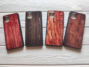 Чехол Gradient Wood для Samsung Galaxy Note 10 Lite / N770F (разные цвета)