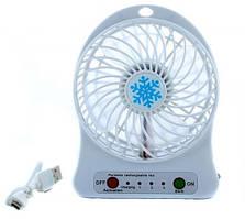 Портативный USB вентилятор с гарантией работы, до 6 часов Mini Fan xsfs-01 настольный